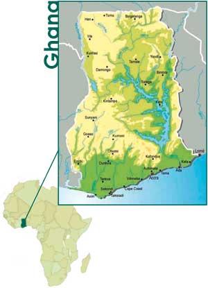 Ghana Karte.Social Responsibility Jbs Gb